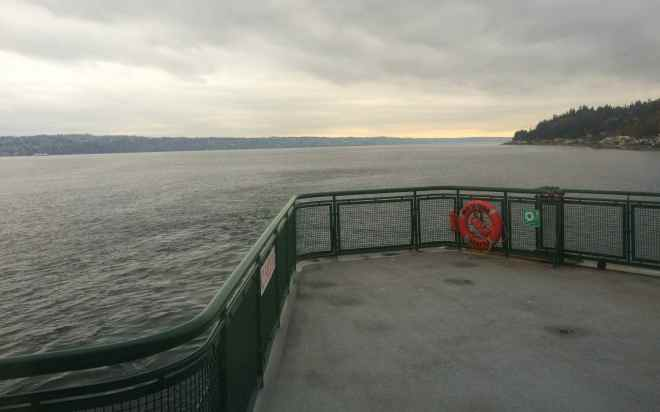 View from the ferry