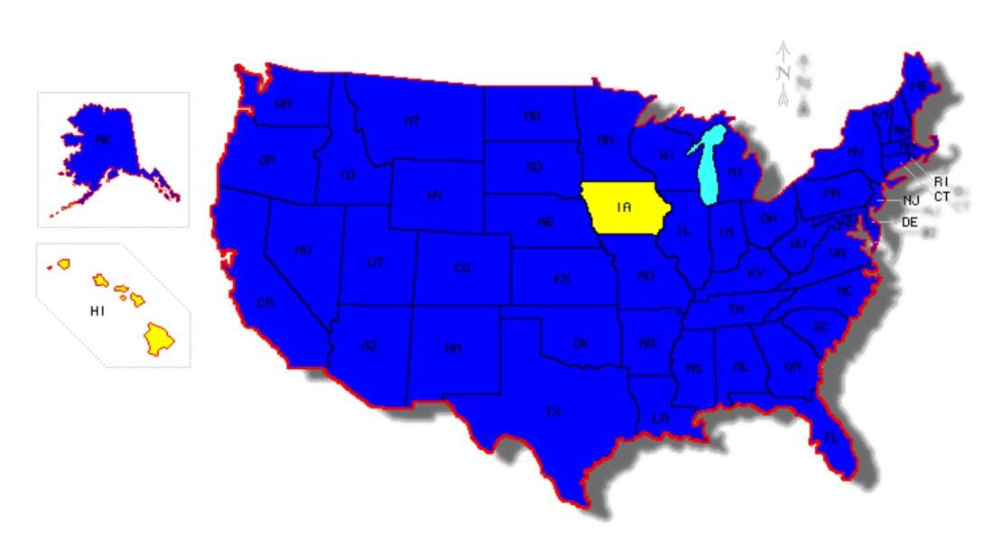 states-traveled-through-map