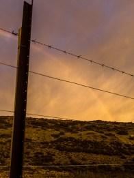 Rainbow on Ruta 40.