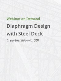 Diaphragm Design with Steel Deck  Steel Joist Institute