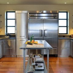 Kitchen Cabnet Island Tops Ideas Stainless Steel Cabinets | Steelkitchen