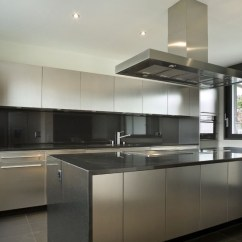Stainless Steel Kitchen Rv Faucets Cabinets Steelkitchen Contemporary