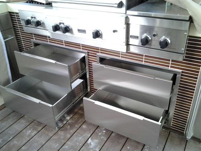 Stainless Steel Outdoor Kitchen Cabinets  SteelKitchen