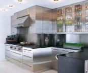 kitchen steel cabinets