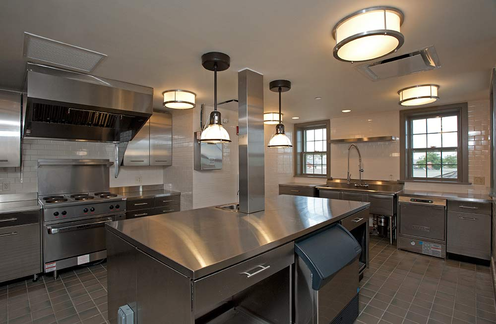 Stainless Steel Commercial Kitchen Cabinets.