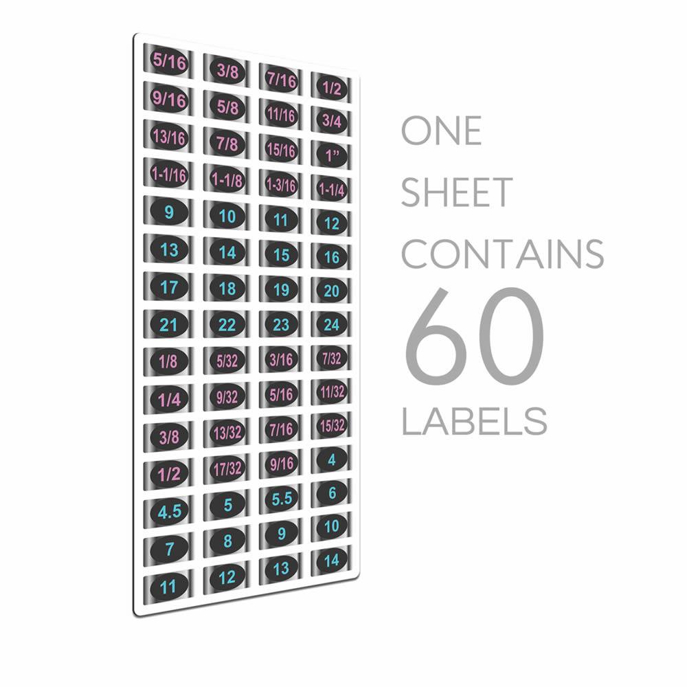 Chrome Socket Labels: Ladies Edition