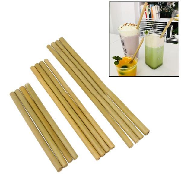 Organic Bamboo Straws (4 piece set)
