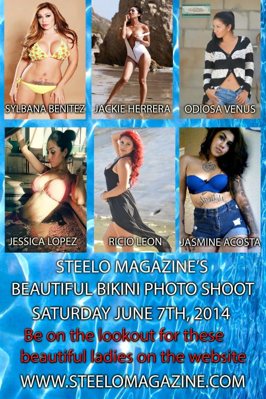 Steelo Magazine June 7th promo flyer