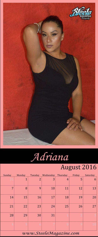 August 2016 Calendar Adriana 2