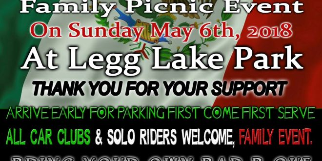LA Times Car club & Elegants Car club – Cinco De Mayo Picnic