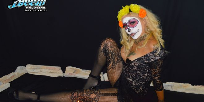 Steelo Magazine Model – Marylu S (Dia De Los Muertos shoot)