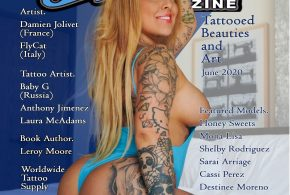 Steelo Magazine – Tattooed Beauties and Art Issue – Printed Copies on SALE Now.