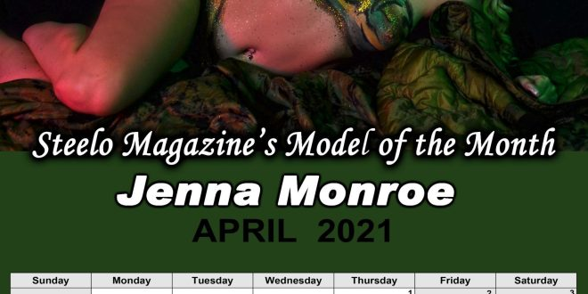 April 2021 – Steelo Magazine Model of the Month – Jenna Monroe
