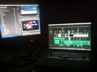 Editing through the night. Adobe Premiere Pro CS6. Edit of Resolution Hope's Sex Trafficking Awareness Video.