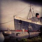 The Queen Mary for Jamie's B Day.