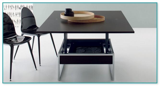 Dwell Convertible Coffee Table Walnut