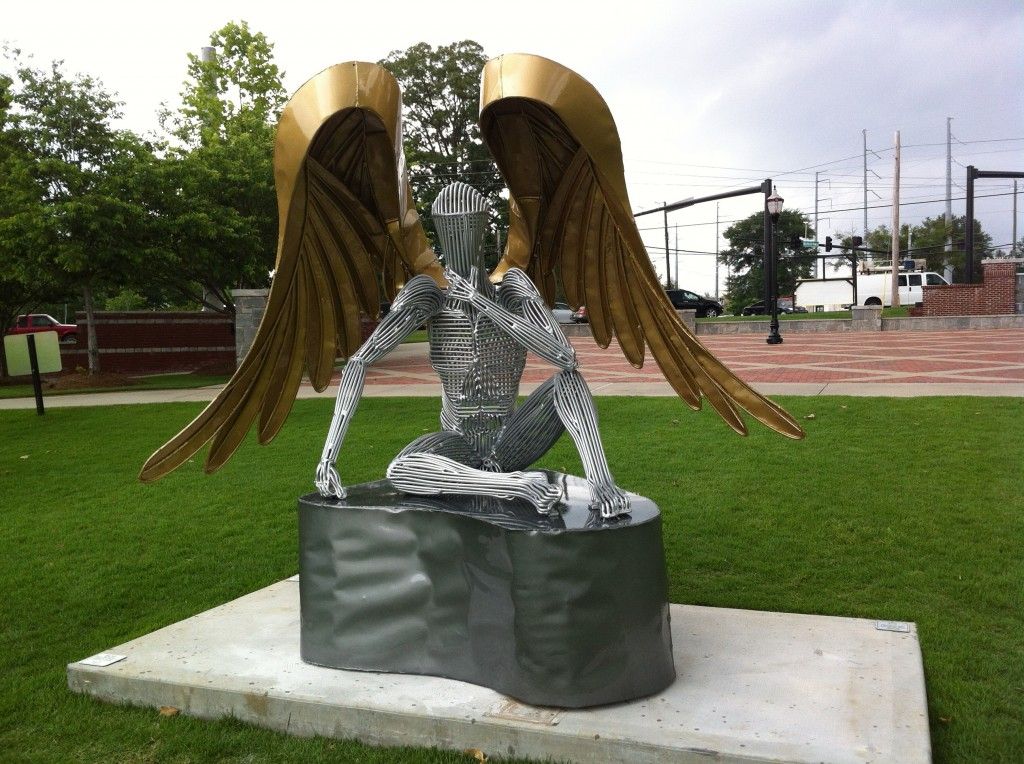 Winged Glory Sculpture