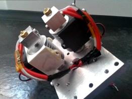 3d printer head assembling 3