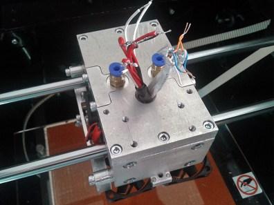 3d printer head assembling 5