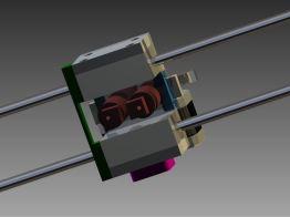3d printer head render bottom