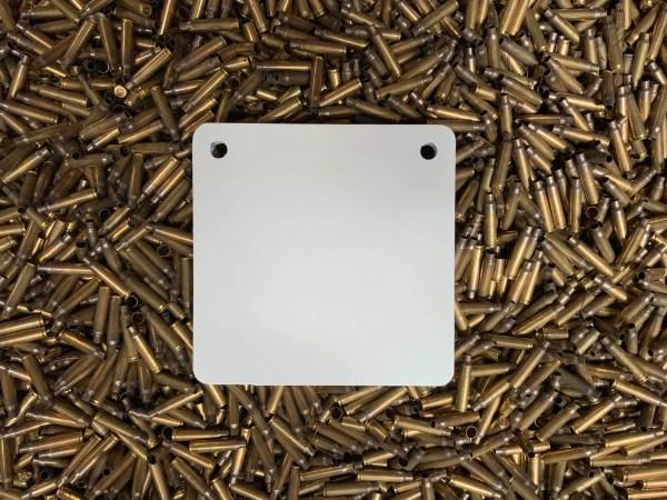 Steel Targets NZ 200mm hanger in 12mm AR500 steel