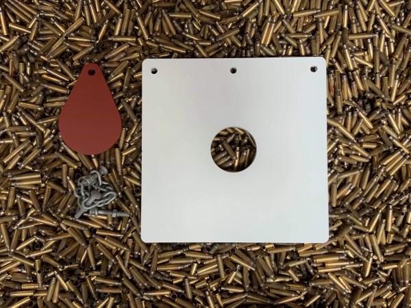 300mm bullseye target in AR500 Steel Targets NZ