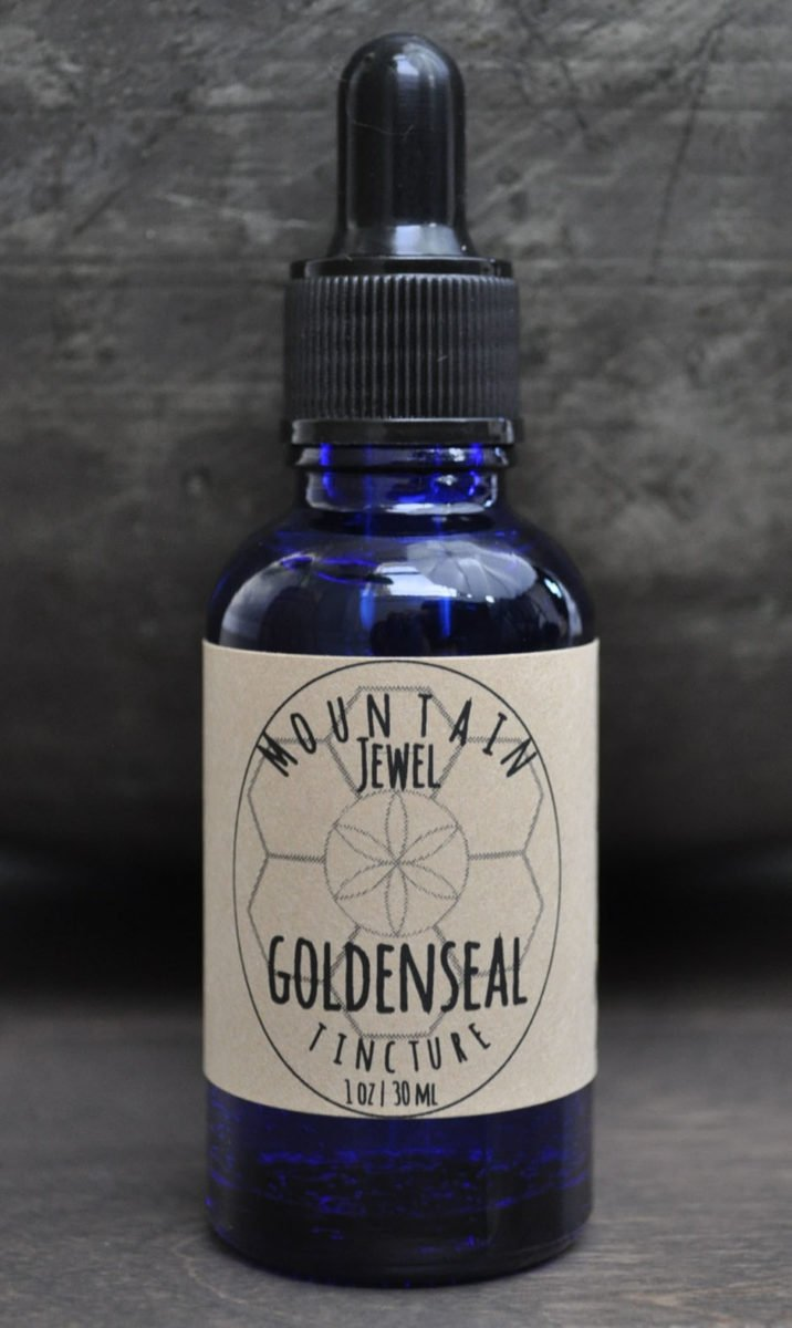 Goldenseal Organic & Biodynamic Cultivated Tincture 1 OZ
