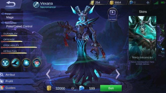 ghost hero! vexana gameplay by ubaygaming. mobile legend