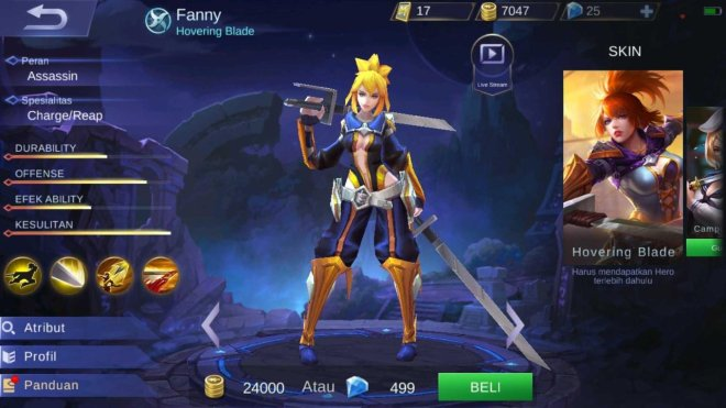 hardest hero to control! fanny gameplay by ubaygaming mobile