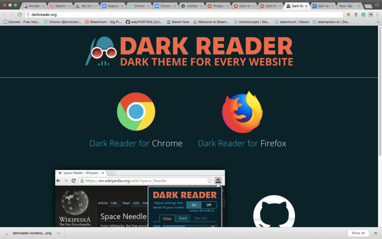 Image result for Dark Reader