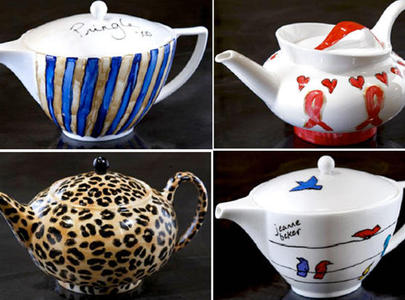 Teapots for AIDS