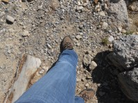 Tip: Wear long pants when you hike, they will keep your legs from looking like roadkill.