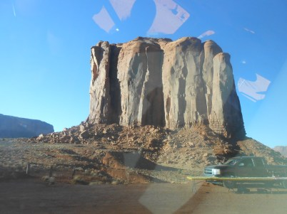 And last but not least, Monument Valley, AZ. I purposefully made sure I included some car window reflection, because all my Monument Valley photos were taken out the car window.