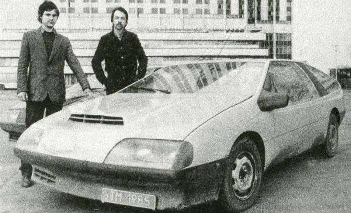 Дмитрий Парфенов конструктор машина «Laura»