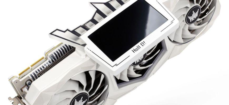 Видеокарта Galax GeForce RTX 3090 HOF