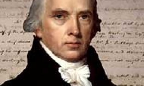 James Madison, 4th President of the United States and father of the Constitution