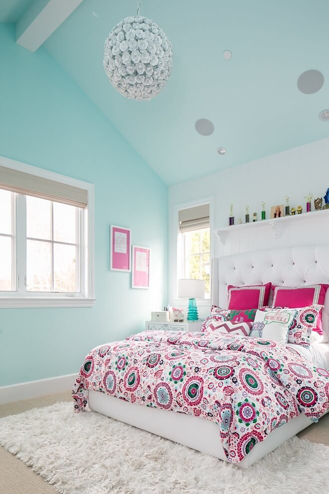 65 Feminine And Fashionable Teenage Girl Bedroom Ideas That Will Blow Your Mind