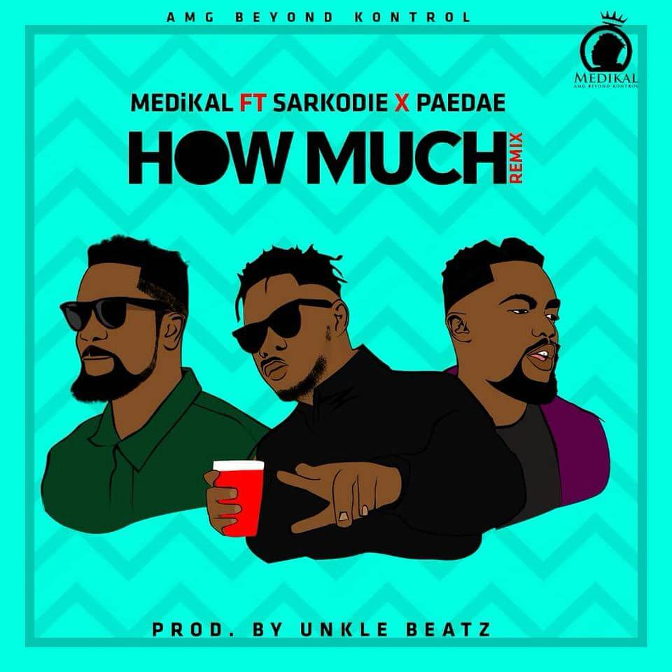 Lyrics medikal ft sarkodie paedae how much remix steezehub
