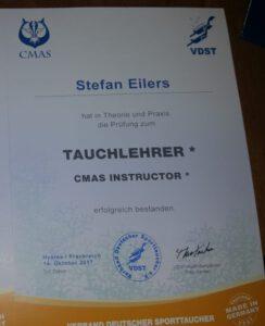 Tauchlehrer Aurich Stefan Eilers Maike Kruse