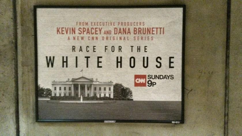 """Was ist Fiktion, was ist Wirklichkeit? CNN versucht, vom Erfolg von """"House of Cards"""" zu profitieren."""