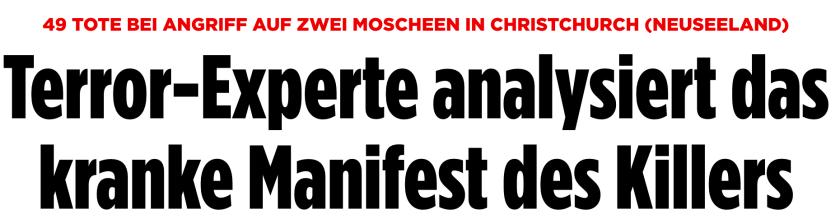Berichterstattung auf bild.de (Screenshot: bild.de)