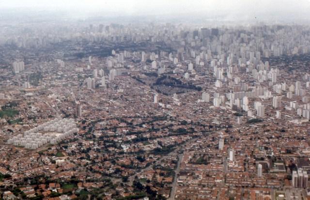Sao Paulo aus der Luft