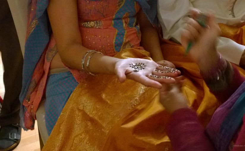 Indischer Henna-Abend – ein Kaleidoskop der Farben