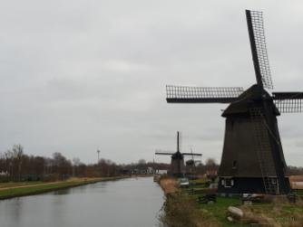 Windmühlen und Wasser