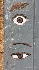 Das allsehende Auge des Buddha