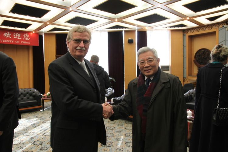 Stefan-Zweig-Symposium im November 2012 in Peking