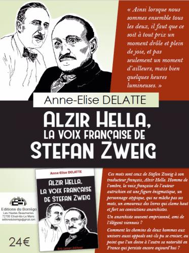 Anne-Elise Delattes Buch: Alzir Hella, la voix française de Stefan Zweig
