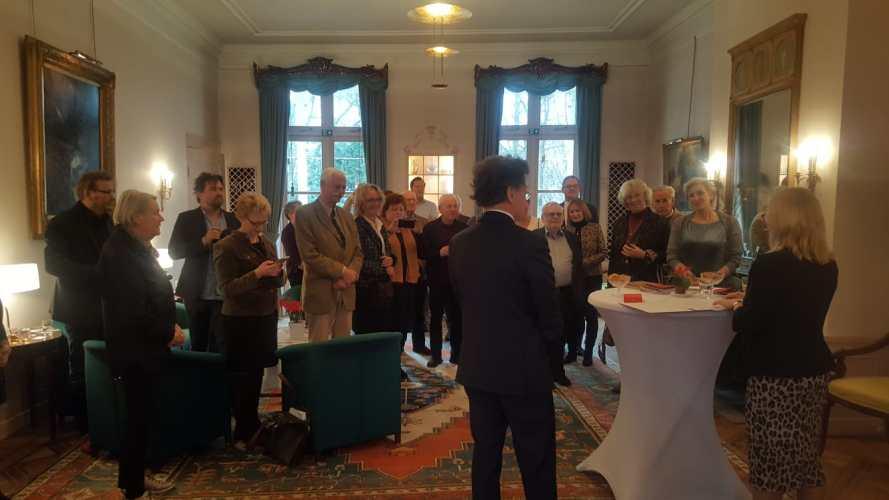 """Verleihung des """"Goldenen Ehrenzeichens für Verdienste um die Republik Österreich"""" an Dirk Jansen"""