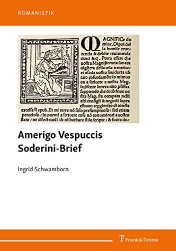 """""""Amerigo Vespuccis Soderini-Brief"""""""