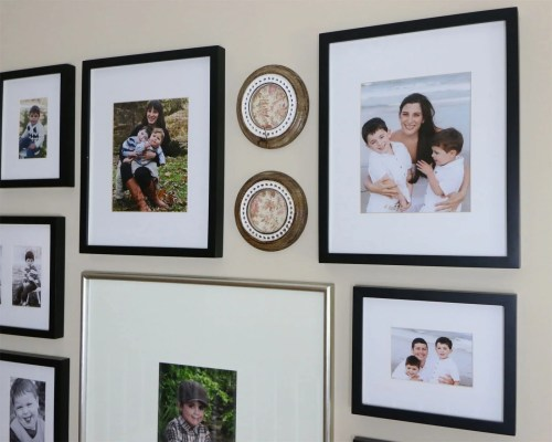 Gallery Wall, Pottery Barn Picture Frames